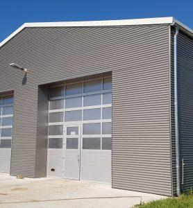 Fassade grau