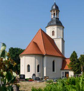 Steildach Kirche