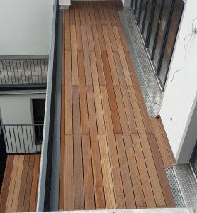 Balkon in Berlin