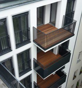Balkone in Berlin