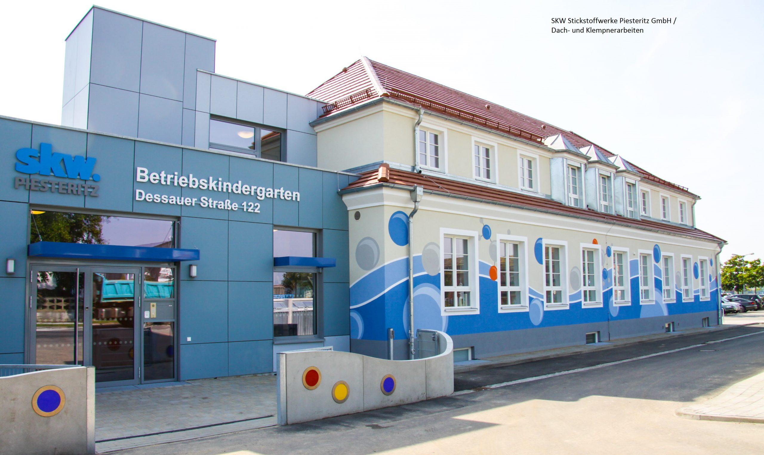 Steildach Kindergarten